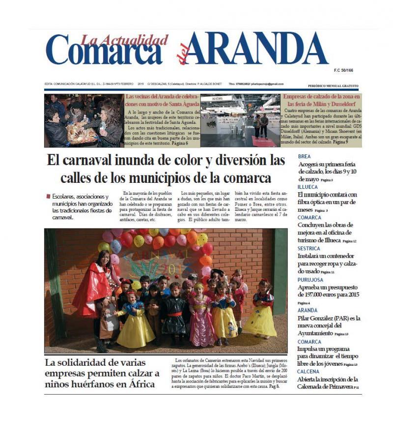 Peri�dico comarcal del mes de febrero
