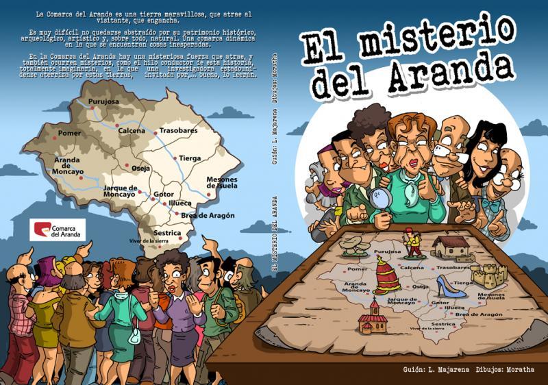 Comic 'El Misterio del Aranda'