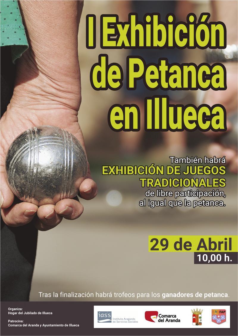 I Exhibición de Petanca