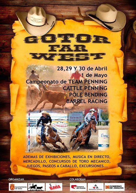 El Gotor Far West  se celebrará del 28 de abril al 1 de mayo