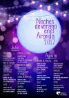 Noches de Verano  en el  Aranda 2017
