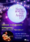 Noches de Verano en el Aranda 2017 entra en su recta final