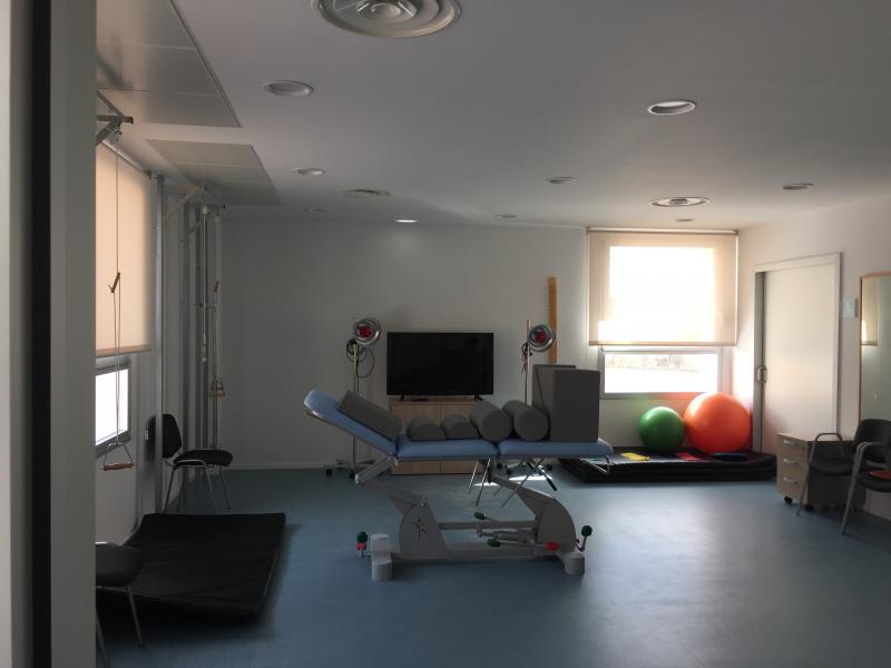 El centro de salud de Illueca dispone de un nuevo servicio de fisioterapia de Atención Primaria