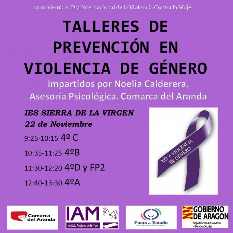 25 noviembre Día Internacional de lucha contra la Violencia de Género
