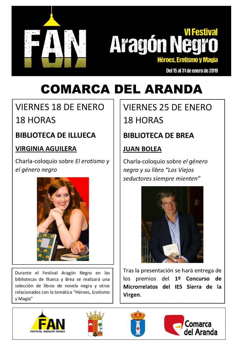 La Comarca se suma el VI Festival Aragón Negro