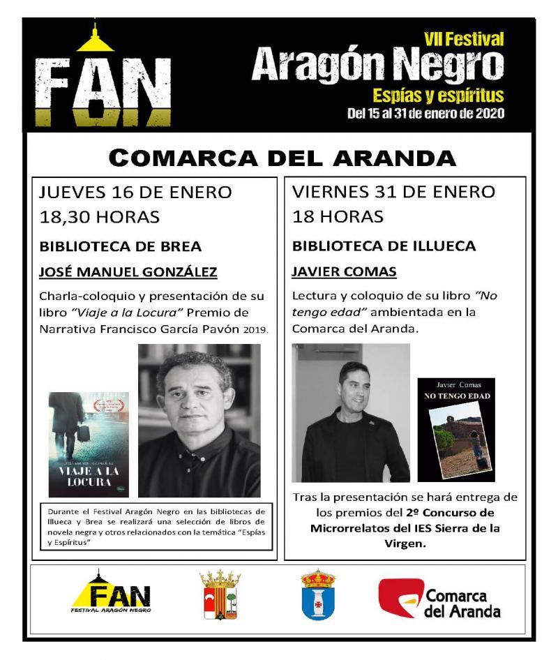 La Comarca se suma el VII Festival Aragón Negro