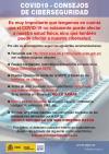 Consejos de ciberseguridad del SEPE