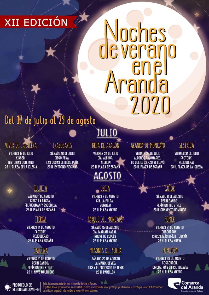Noches de Verano en el Aranda 2020