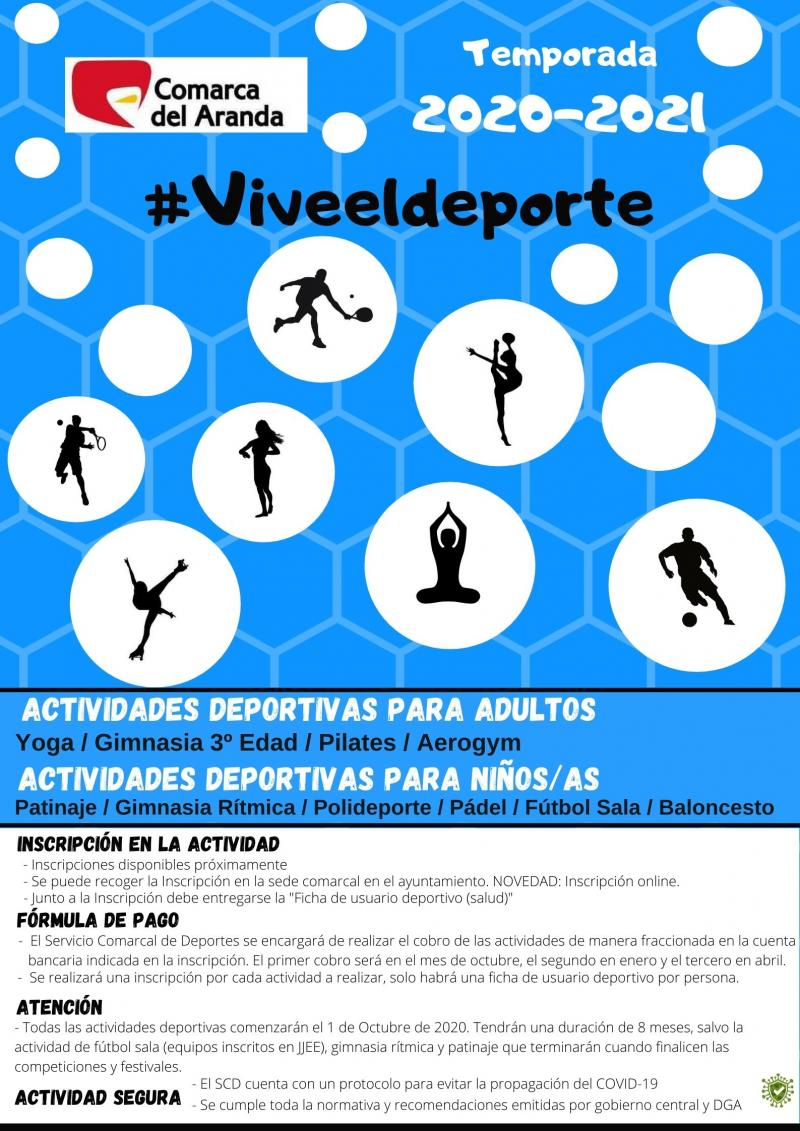 Actividades Deportivas Temporada 2020/2021