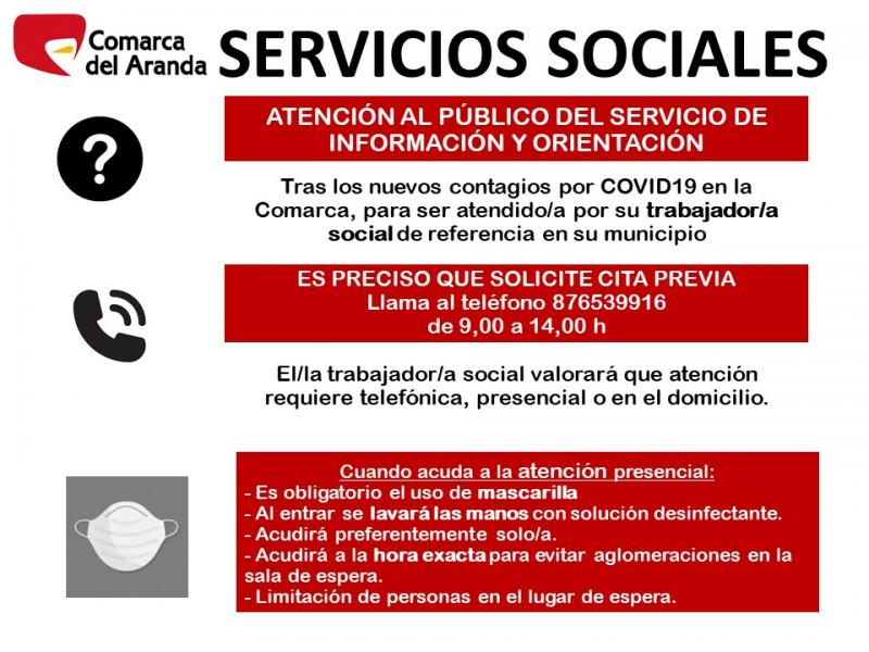 Atención Al Público Servicios Sociales